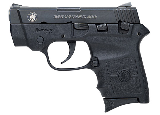 Pistola SMITH & WESSON M&P 380 BODYGUARD LASER CRIMSON
