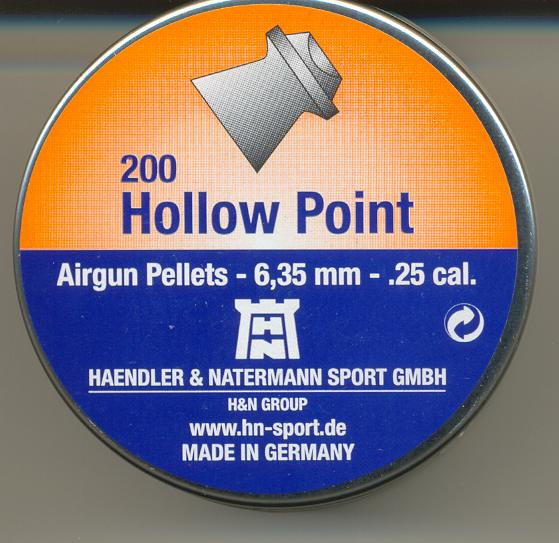 H&N HOLLOW POINT 6,35""