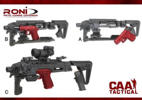CAA RONI KIT CONVERSION CARABINA GLOCK