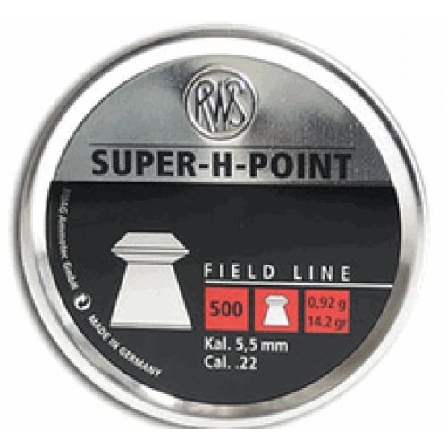 BALINES RWS SUPER H POINT CAL. 5,5""
