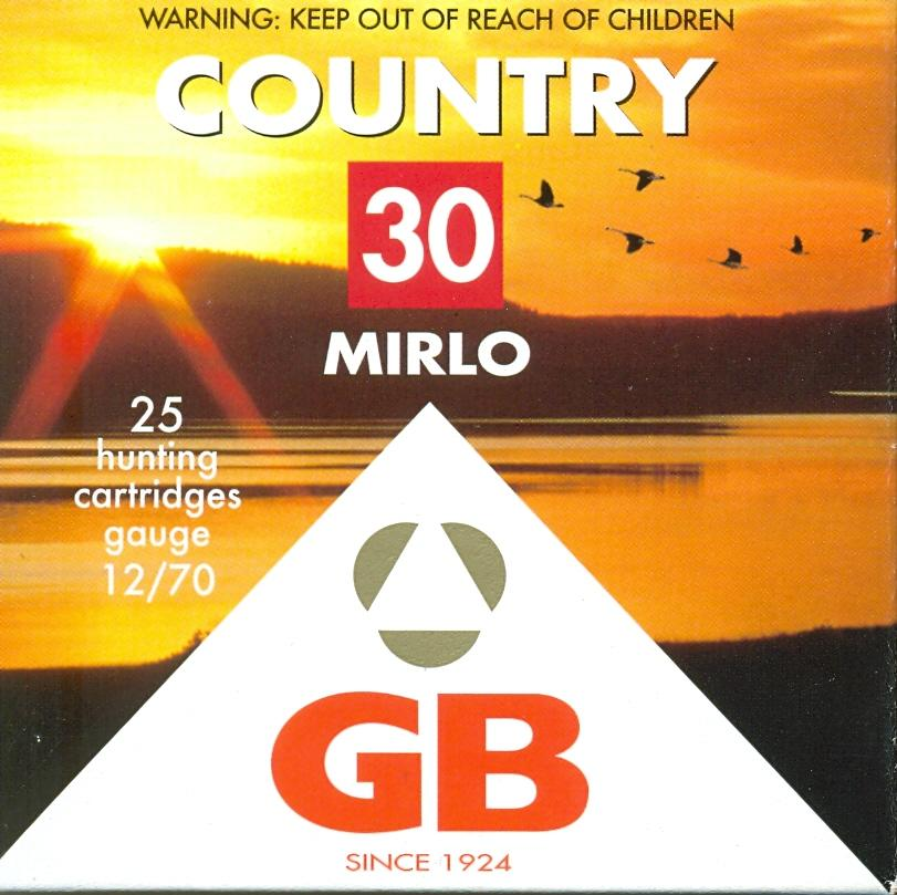 GB COUNTRY MIRLO 30