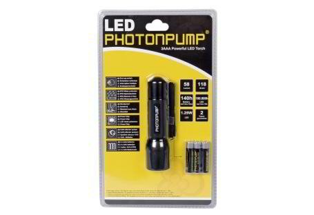 LINTERNA LED PHOTONPUMP