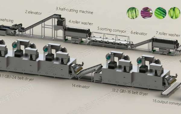 Operation, Principle of Vegetable Drying Machine
