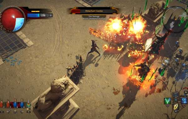 Path of Exile marks the admission on PlayStation