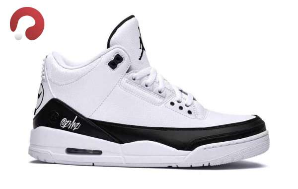 DA3595-100 New Air Jordan 3 Retro SP White Black To Release In Fall 2020