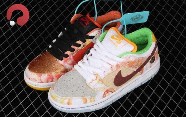 Nike SB Dunk Low CNY Street Vendor is Best Morning Running Sneakers