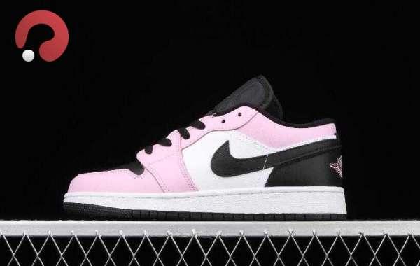 Athlete Air Jordan 1 Low GS LA Arctic Pink is Best Shoes for Girls