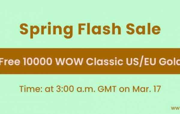 Free 10000 world of warcraft Classic gold for sale Coming for Spring Flash Sale March 17