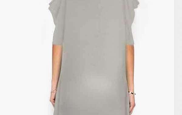 V-Neck Cold Shoulder Plain Lace Long Sleeve Black T-Shirts