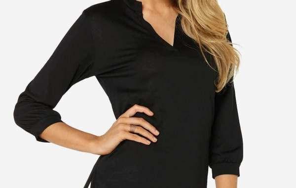 Round Neck Cold Shoulder Crochet Lace Embellished Hollow Short Sleeve Black Top