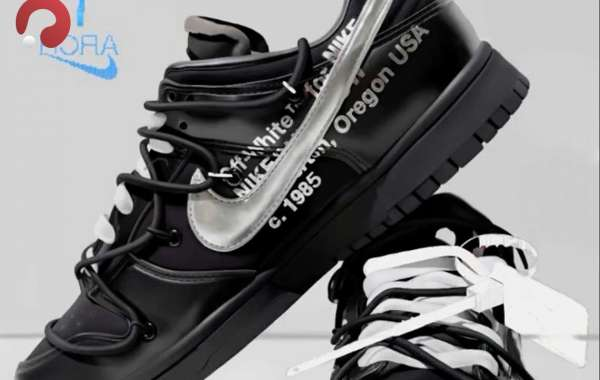 """Off-White x Nike Dunk Low """"MoMA"""" release information"""
