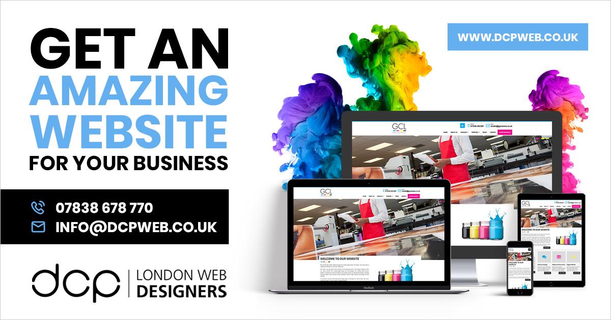 Web Designers   Web Design London   Website Designers   DCP