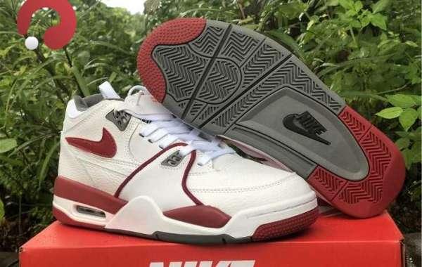 2021 Nike Air Flight 89 Team Red Hot Sale DD1173-100