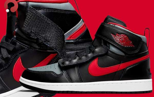 Air Jordan 1 FlyEase returns with new black, red and gray colorways